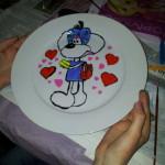 knutselclubje bord beschilderen